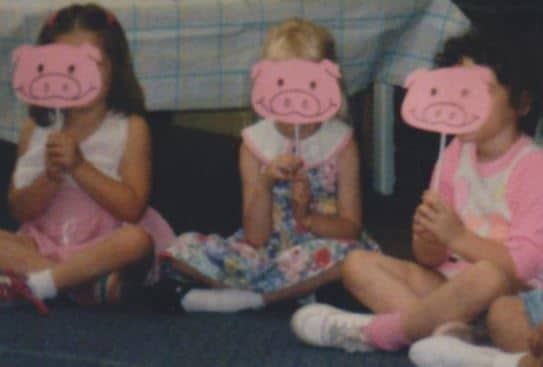 Morty and The Three Little Pigs